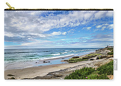 Carry-all Pouch featuring the photograph Windansea Wonderful by Peter Tellone