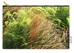 Windblown Grasses Carry-all Pouch