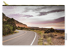 Winding Desert Road Carry-all Pouch