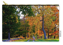 Winding Road In Autumn Carry-all Pouch
