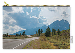 Winding Through The Tetons Carry-all Pouch