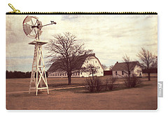 Windmill At Cooper Barn Carry-all Pouch by Julie Hamilton