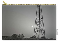 Windmill At Dawn Carry-all Pouch by Robert Frederick