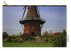 Windmill At Tulip Time Carry-all Pouch by Rachel Cohen
