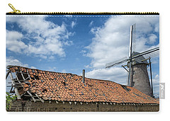Windmill In Belgium Carry-all Pouch