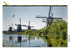 Windmills Of Kinderdijk, Netherlands Carry-all Pouch