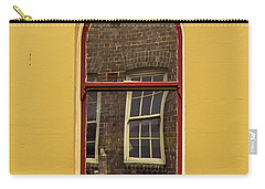 Carry-all Pouch featuring the photograph Window And Window 2 by Perry Webster