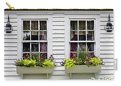 Window Boxes And Flowers Carry-all Pouch
