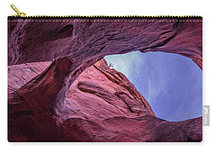 Carry-all Pouch featuring the photograph Window In To The Sky by Edgars Erglis