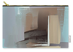 Carry-all Pouch featuring the mixed media Window Morning View by Eduardo Tavares