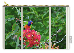 Carry-all Pouch featuring the photograph Window Of Nature By Kaye Menner by Kaye Menner