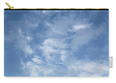 Carry-all Pouch featuring the photograph Window On The Sky In Israel During The Winter by Yoel Koskas