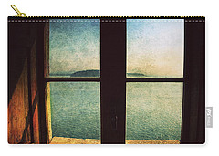Window Overlooking The Sea Carry-all Pouch