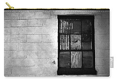 Carry-all Pouch featuring the photograph Window Pains by Jeanette O'Toole