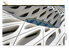 Carry-all Pouch featuring the photograph Window Pool At The Broad by Lorraine Devon Wilke