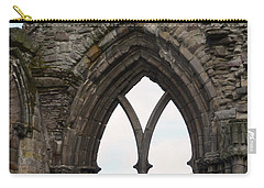 Window Ruins At Holyrood Abbey Carry-all Pouch