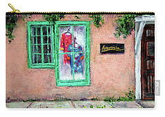Window Shopping-taos Carry-all Pouch by Jill Musser
