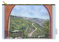 Window To Jerusalem Carry-all Pouch