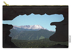 Window To Pikes Peak Carry-all Pouch