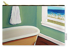 Window To The Sea No. 4 Carry-all Pouch by Rebecca Korpita