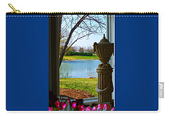 Window View Pond Carry-all Pouch