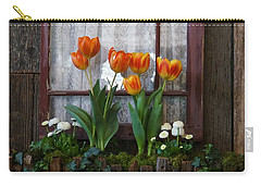 Windowbox Tulips Carry-all Pouch