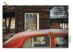 Carry-all Pouch featuring the photograph Windows by Cat Connor