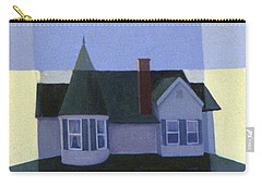 Carry-all Pouch featuring the painting Windows by Donald Maier