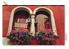 Windows In Venice Carry-all Pouch by Tamara Sushko
