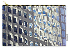 Carry-all Pouch featuring the photograph Windows Of 2 World Financial Center 2 by Sarah Loft