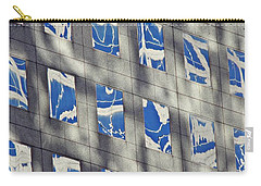 Carry-all Pouch featuring the photograph Windows Of 2 World Financial Center 3 by Sarah Loft