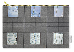 Carry-all Pouch featuring the photograph Windows Of 2 World Financial Center   by Sarah Loft