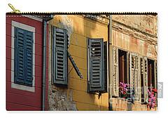 Windows Of Rovinj, Istria, Croatia Carry-all Pouch