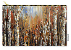 Winds Of Autumn Carry-all Pouch by Tatiana Iliina