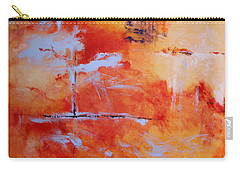 Carry-all Pouch featuring the painting Winds Of Change by M Diane Bonaparte