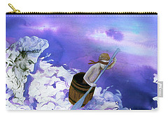 Carry-all Pouch featuring the painting Winds Of Fate  by Rene Capone