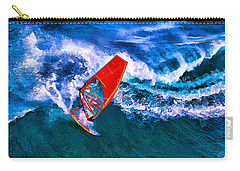 Windsurfer 1 Carry-all Pouch by ABeautifulSky Photography