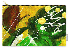 Carry-all Pouch featuring the painting Windswept II by Angela L Walker