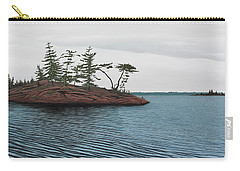 Windswept Island Georgian Bay Carry-all Pouch