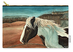 Windswept - Paint Horse - Shawangunk Carry-all Pouch