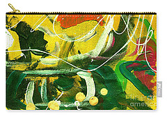 Carry-all Pouch featuring the painting Windswept V by Angela L Walker
