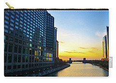 Windy City Sunrise Carry-all Pouch