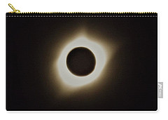 Windy Corona During Eclipse Carry-all Pouch