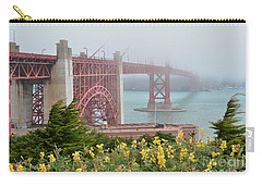 Windy Foggy Golden Gate Bridge  Carry-all Pouch