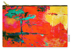 Carry-all Pouch featuring the digital art Windy Swirl by M Diane Bonaparte