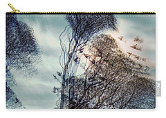 Carry-all Pouch featuring the photograph Windy Weather by Vladimir Kholostykh