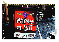 Wine A Bit Carry-all Pouch