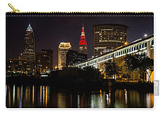 Wine And Gold In Cleveland Carry-all Pouch