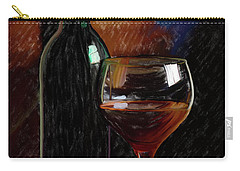 Wine Cellar 01 Carry-all Pouch by Wally Hampton