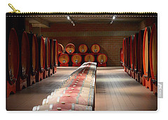 Wine Cellar In Montalcino Carry-all Pouch